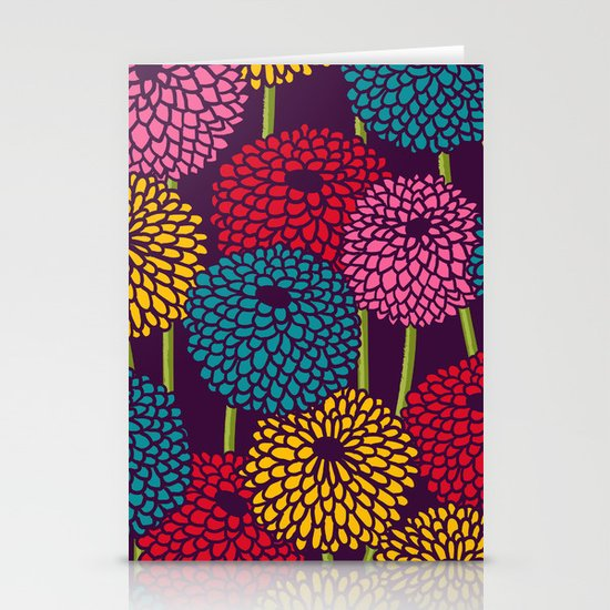 Full of Chrysanth Stationery Cards