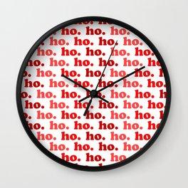 Ho. Ho. Ho. Wall Clock