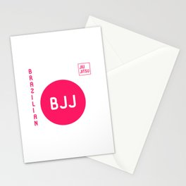 My Favorite Sport is Brazilian Jiu-Jitsu BJJ Training MMA Stationery Cards