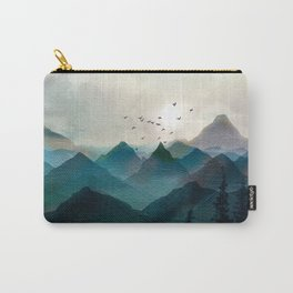Mountain Sunrise II Carry-All Pouch