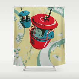 Skyway Shower Curtain