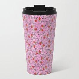The Knotty Rose Travel Mug