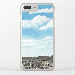 Townscape Sky Clear iPhone Case
