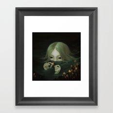 Swamp Girl  Framed Art Print