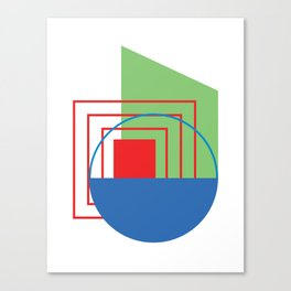 RGB Poster 2 Canvas Print