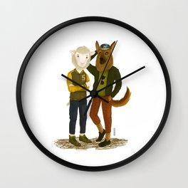 Sheep&Dog Wall Clock