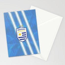 Uruguay Football Stationery Cards