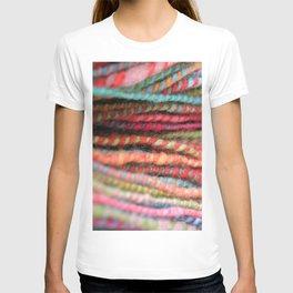 Handspun Yarn Color Pattern by robayre T-shirt