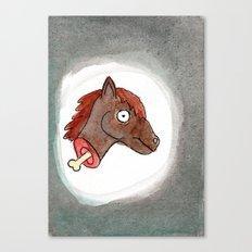 Lisa's Pony Canvas Print