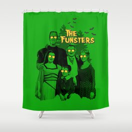 The Fun Monsters Shower Curtain