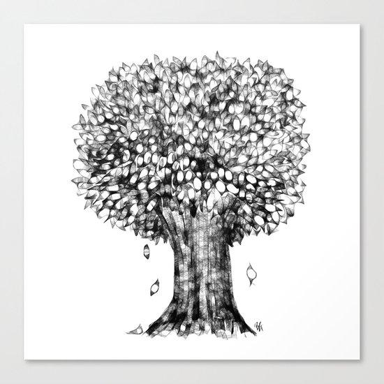 One Tree Canvas Print