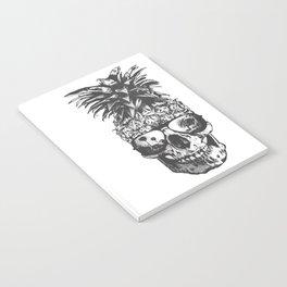 Pineapple Skull Head Notebook