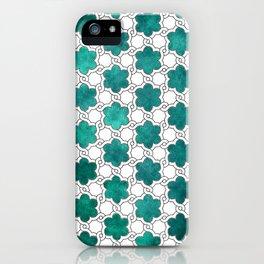 Flowerish Maze iPhone Case