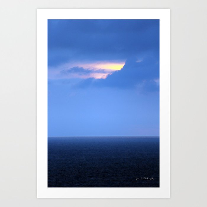 A Hole In Paradise  Art Print