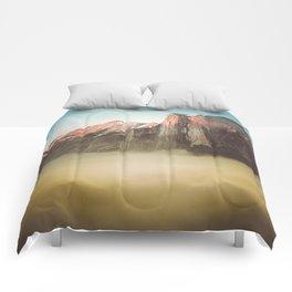 Half Dome Yosemite California Comforters