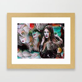 Paranoia Framed Art Print