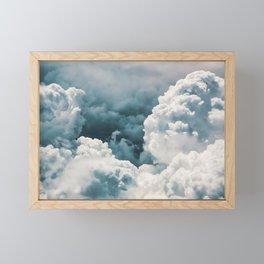 Looking Down Framed Mini Art Print