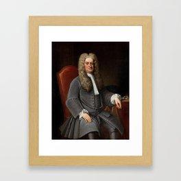 Sir Isaac Newton Framed Art Print