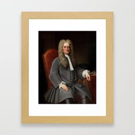 Sir Isaac Newton Framed Art Print