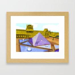 Bonjour Framed Art Print