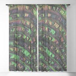 Weird Fractal Sheer Curtain