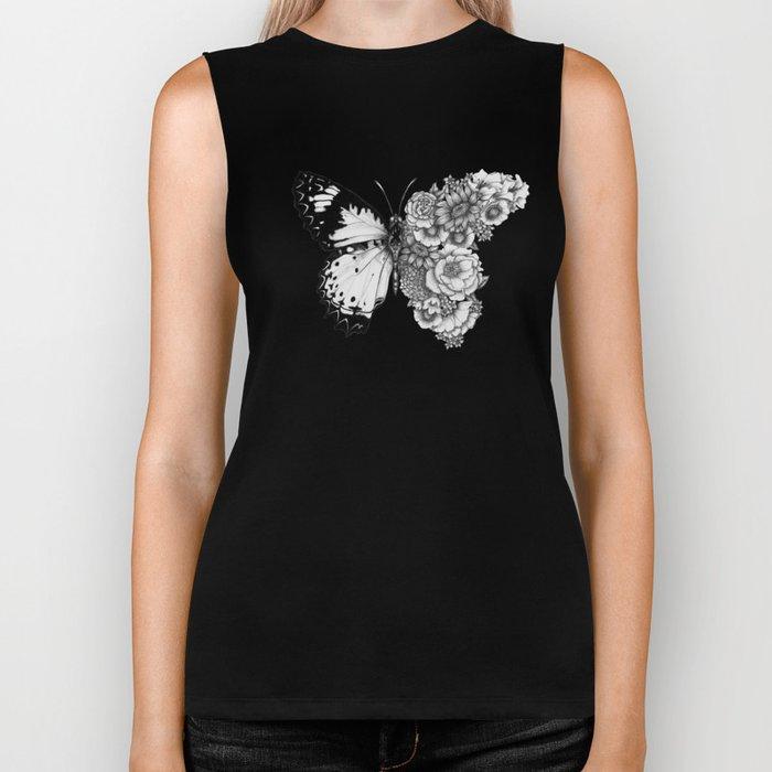 Butterfly in Bloom Biker Tank