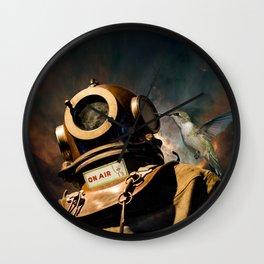 Cosmonaut Wall Clock