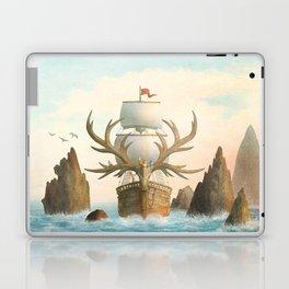 The Antlered Ship - Jacket Laptop & iPad Skin