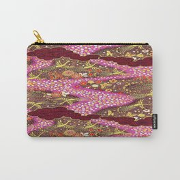 Intricate Yuzen Pattern Carry-All Pouch
