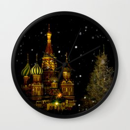 Moscow Night Wall Clock