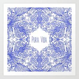 PURA VIDA ONE Art Print