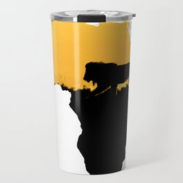 Africa Lion Travel Mug