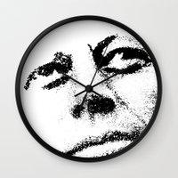 jfk Wall Clocks featuring JFK by Mullin