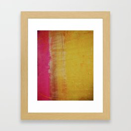 Her Weeping Willow Framed Art Print