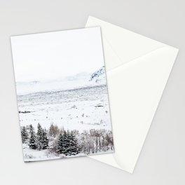 Thingvellir National Park-Coloured Houses Stationery Cards