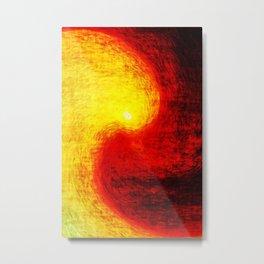 burnsun Metal Print
