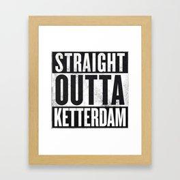Straight Outta Ketterdam Framed Art Print