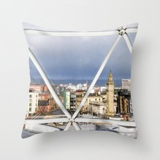 Belfast - Northern Ireland Throw Pillow