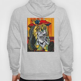 Pablo Picasso Crying Woman 1937 Artwork Shirt, Reproduction Hoody