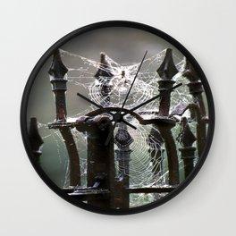 """Tangled Webs"" jjhelene design Wall Clock"