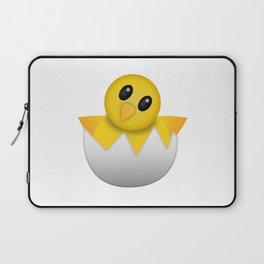 Hatching baby chick Emoji Laptop Sleeve