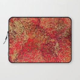 Red Earth Scratches Laptop Sleeve