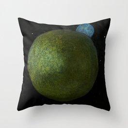 Uranus is Blocking My Moonlight Throw Pillow
