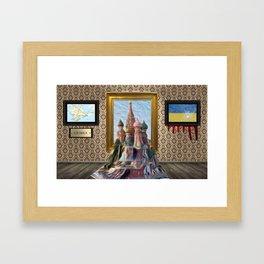 Autonomous Republic of Crimea Framed Art Print