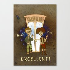 Bill & Ted's Excellent Adventure (1989) Canvas Print
