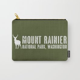 Deer: Mount Rainier, Washington Carry-All Pouch