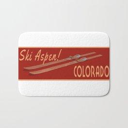 Ski Aspen Colorado Bath Mat