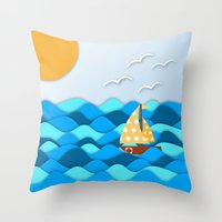 adventure Throw Pillows featuring Adventure by Find a Gift Now