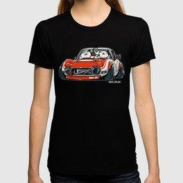 Crazy Car Art 0136 T-shirt