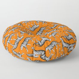 Tigers (Orange and White) Floor Pillow